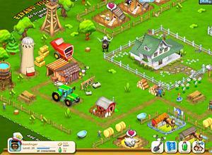 """The iPad game """"We Farm"""" allows users such as the Rays players to own a virtual farm and sell crops"""