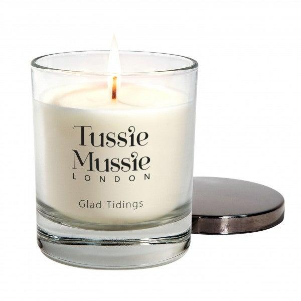 <p>The fragrance of a scented candle can add Christmas ambience to your home</p>Tussie Mussie