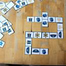 """<p>Try a Jewish take on a matching game with this set of dominoes, which each bearing a symbol of Hanukkah. Younger kids can line up matching dominoes end to end, while parents use the teaching opportunity to explain the holiday's special objects and traditions.</p><p><em><a href=""""https://nurturestore.co.uk/printable-jewish-dominoes-set"""" rel=""""nofollow noopener"""" target=""""_blank"""" data-ylk=""""slk:Get the printable at Nurture Store »"""" class=""""link rapid-noclick-resp"""">Get the printable at Nurture Store »</a></em></p>"""
