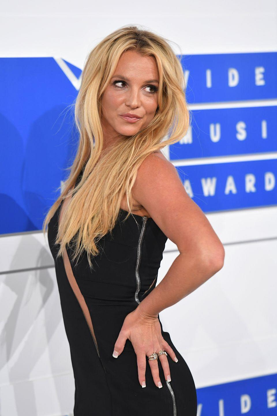 """<p>Britney was not afraid to admit that she's had a little work done on her face. In a <a href=""""https://www.cosmopolitan.com/uk/beauty-hair/news/a24448/britney-spears-lip-injections/"""" rel=""""nofollow noopener"""" target=""""_blank"""" data-ylk=""""slk:2013 interview with"""" class=""""link rapid-noclick-resp"""">2013 interview with</a><em><a href=""""https://www.cosmopolitan.com/uk/beauty-hair/news/a24448/britney-spears-lip-injections/"""" rel=""""nofollow noopener"""" target=""""_blank"""" data-ylk=""""slk:InStyle"""" class=""""link rapid-noclick-resp""""> InStyle</a></em>, the """"Oops... I Did It Again"""" singer said, """"A doctor I see, [Beverly Hills plastic surgeon] Dr. [Raj] Kanodia, does fun stuff to me sometimes. I've had lip injections before.""""<br></p>"""