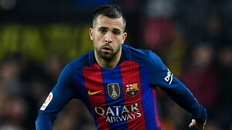 Jordi Alba not scared away from Barca by Theo Hernandez