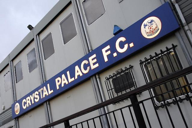 A general view shows the exterior of Crystal Palace's stadium at Selhurst Park in south London, on February 2, 2010 (AFP Photo/Glyn Kirk)