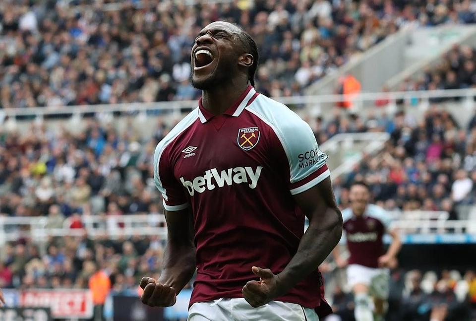 Michail Antonio has been named Premier League Player of the Month for August  (Getty Images)