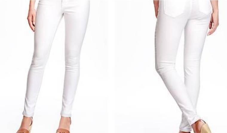 Resistant White Jeans Are Real, So You Can Now Guzzle Red Wine ...