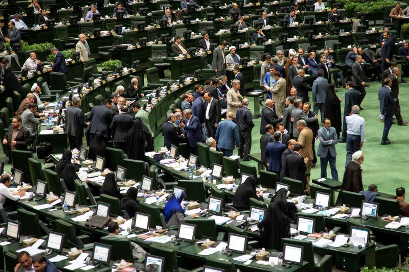 Iran lawmakers call for debate on quitting nuclear arms treaty