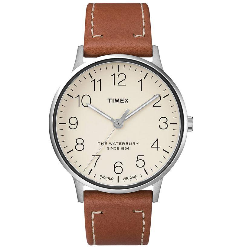 """<p><strong>Timex</strong></p><p>nordstrom.com</p><p><strong>$109.00</strong></p><p><a href=""""https://go.redirectingat.com?id=74968X1596630&url=https%3A%2F%2Fshop.nordstrom.com%2Fs%2Ftimex-waterbury-classic-leather-strap-watch-40mm%2F4662041&sref=http%3A%2F%2Fwww.esquire.com%2Fstyle%2Fmens-fashion%2Fg20138521%2Fbest-groomsmen-gifts-ideas%2F"""" target=""""_blank"""">Buy</a></p><p>Every guy could use a go-to Timex. This one works easily with even the most disparate of styles—and it's affordable.</p>"""