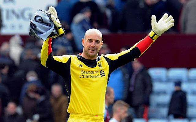 Goalkeeper Pepe Reina spent nine years at Liverpool - Liverpool FC