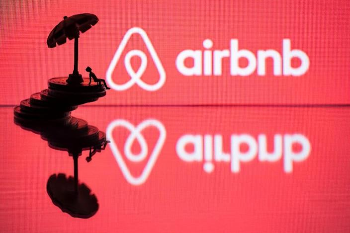 "Airbnb is expected to file for a stock listing this year in a sign of spectacular growth of ""sharing economy"" platforms (AFP Photo/JOEL SAGET)"