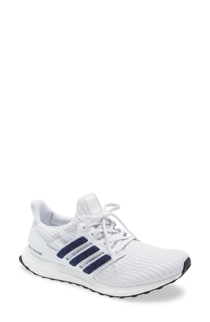 """<p><strong>ADIDAS</strong></p><p>nordstrom.com</p><p><a href=""""https://go.redirectingat.com?id=74968X1596630&url=https%3A%2F%2Fwww.nordstrom.com%2Fs%2Fadidas-ultraboost-dna-running-shoe-men%2F5743499&sref=https%3A%2F%2Fwww.bestproducts.com%2Ffitness%2Fg37158206%2Fnordstroms-anniversary-sale-best-sneakers%2F"""" rel=""""nofollow noopener"""" target=""""_blank"""" data-ylk=""""slk:BUY IT HERE"""" class=""""link rapid-noclick-resp"""">BUY IT HERE</a></p><p><del>$180<br></del><strong>$119.90</strong></p><p>Everyone loves the Adidas' UltraBoost sneakers for their special, energy-responsive Boost technology. And thanks to Nordstrom's Anniversary Sale, you can score 35 percent off the asking price.</p>"""