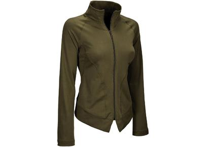 "<div class=""caption-credit""> Photo by: Rodale</div><div class=""caption-title""></div><b>Anue Yoga Volar Jacket by New Balance</b> ( $54.99, www.shopnewbalance.com) This sculpted, figure-skimming jacket made from recycled polyester and elastane is designed to wick away any remaining dewiness after you work out. Shaped seams give your torso a longer, leaner look, while the soft fabric keeps you comfortable and warm whether you're on a hike,  running errands, or heading home after the gym. <a rel=""nofollow"" target=""_blank"" href=""http://www.prevention.com/fitness/fitness-tips/problems-your-health-club?cm_mmc=Yahoo_Blog-_-PVN_Shine-_-15%20Green%20Workout%20Looks-_-6%20Signs%20You%20Joined%20The%20Wrong%20Gym""><b>6 Signs You Joined the Wrong Gym</b></a>"