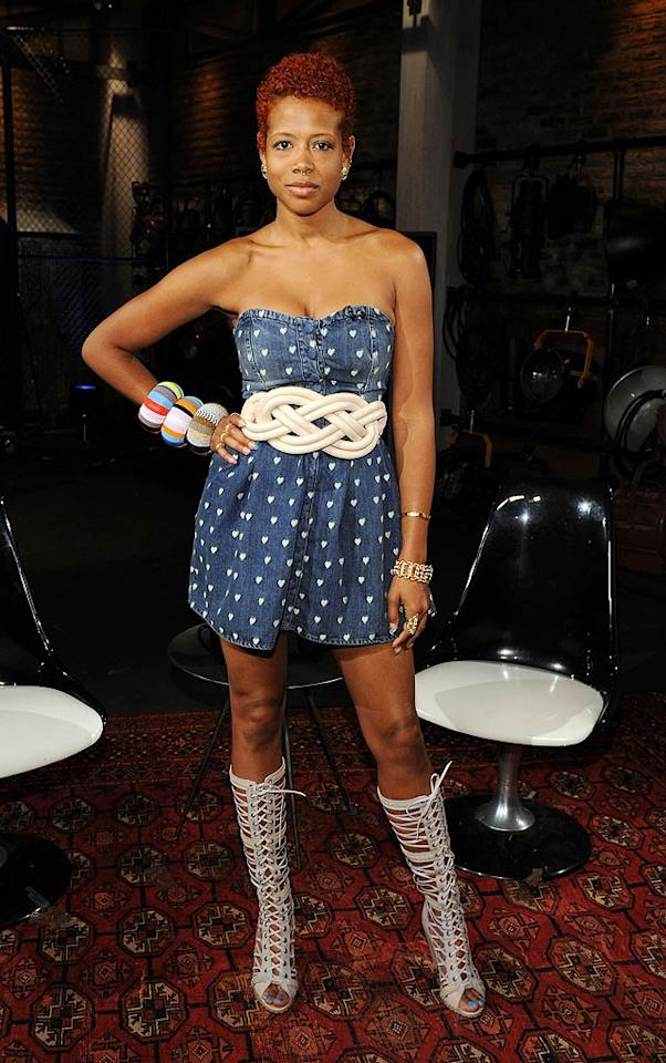 "It's official: Kelis should no longer be allowed to dress herself. Hopefully her year-old son, Knight, has his own personal shopper and stylist. Bryan Bedder/<a href=""http://www.gettyimages.com/"" target=""new"">GettyImages.com</a> - July 8, 2010"