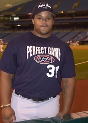 Prince Fielder as a high school senior — USA Today via Perfect Game