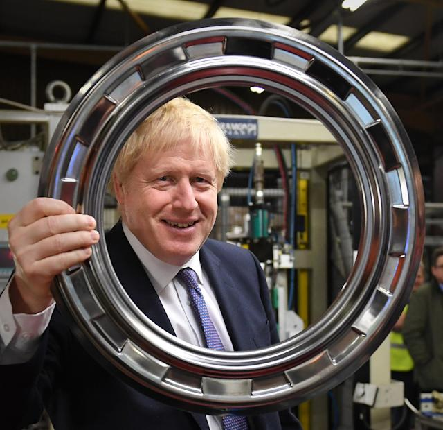 Boris Johnson en campaña (Photo by Stefan Rousseau/PA Images via Getty Images)