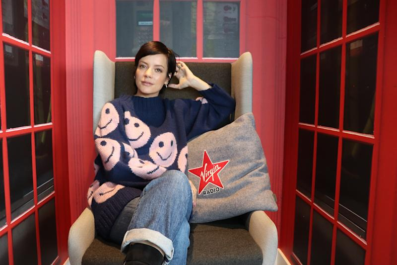 Lily Allen still lives in fear of being stalked (Credit: Virgin Radio)