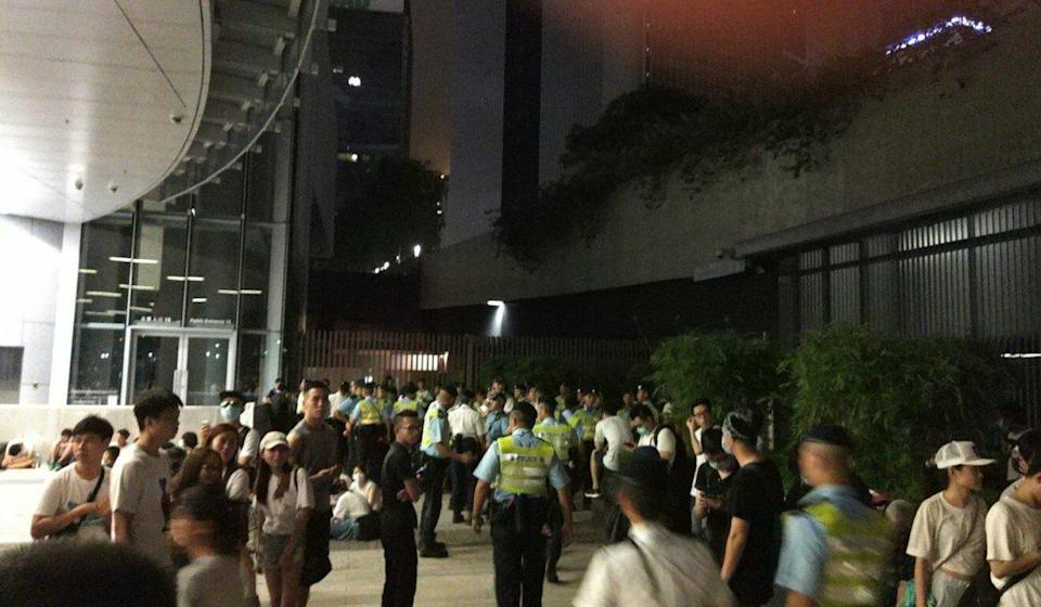 The trial centred on the overnight chaos outside the Legislative Council between June 9 and 10, 2019. Photo: Handout