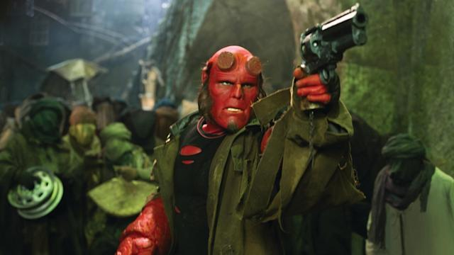 Ron Perlman as the title character in Guillermo del Toro's 'Hellboy.' (Photo: Columbia Pictures)