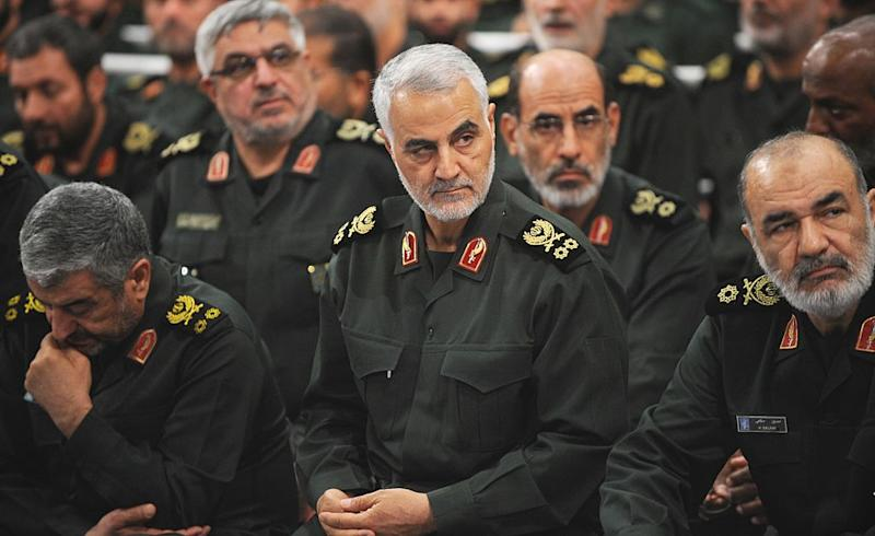 Iranian Quds Force commander Qassem Soleimani was killed by the US on Friday. Source: Getty