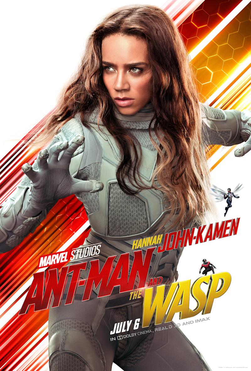 Hannah John-Kamen in <i>Ant-Man and the Wasp</i>. (Image: Marvel)