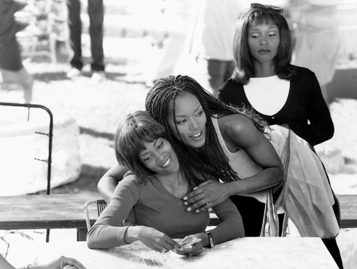 <p>The year 1998 was a big one for the star, who had several films come out, including <em>How Stella Got Her Groove Back, </em>in which she played Angela Bassett's protective sister.</p>