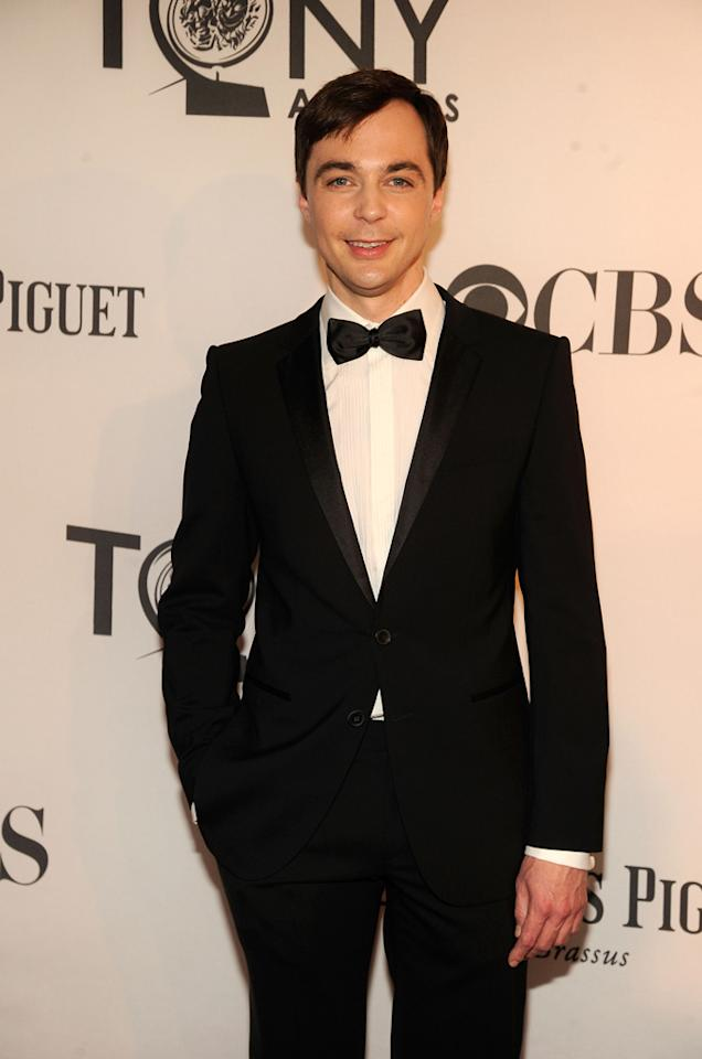 Jim Parsons attends the 66th Annual Tony Awards at The Beacon Theatre on June 10, 2012 in New York City.