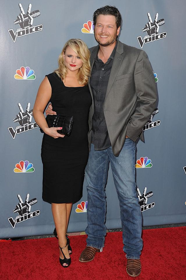 "Miranda Lambert arrives at the screening of NBC's ""The Voice"" Season 4 at TCL Chinese Theatre on March 20, 2013 in Hollywood, California."