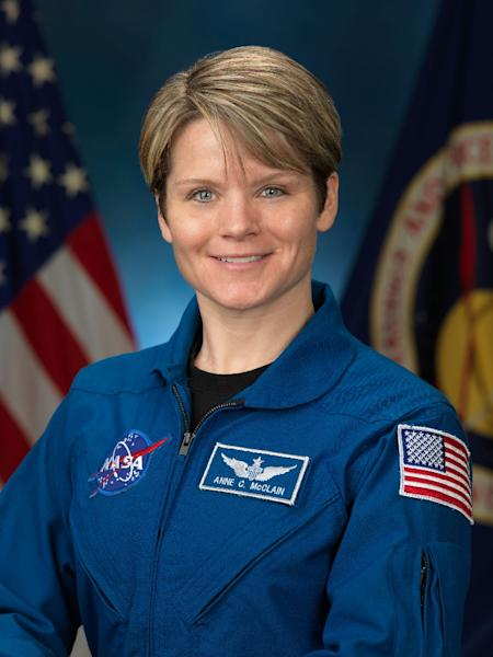 Anne McClain, an ex-army helicopter pilot, will be in the International Space Station (ISS) until the end of June (AFP Photo/Robert Markowitz)