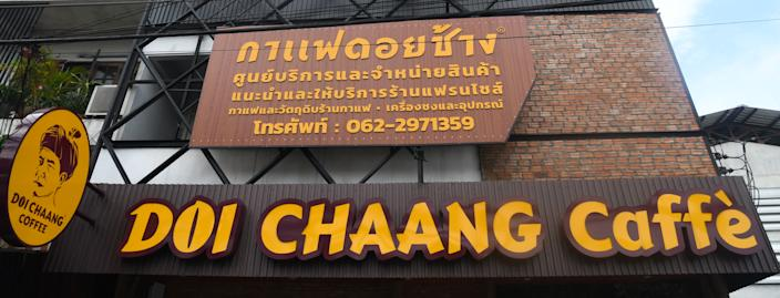 File Photo: One of the 300 Thailand based Doi Chaang Coffee shops located in Chiang Rai. (Photo by Artur Widak/NurPhoto via Getty Images)