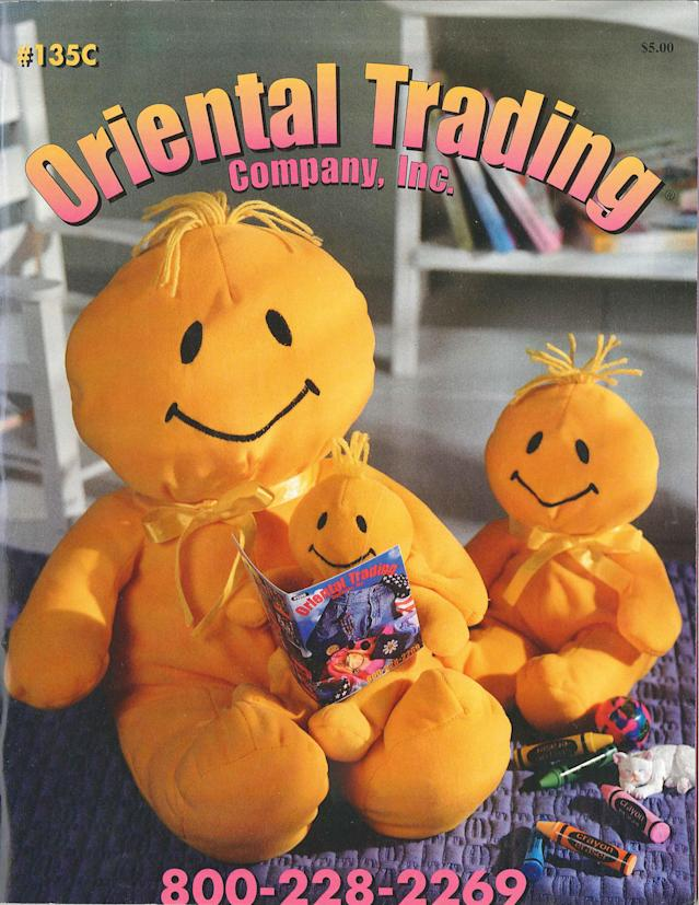 Oriental Trading cover from 1997. (Photo: Courtesy of Oriental Trading)