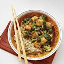 <p>Chipotle peppers add kick to this tofu and broccoli stir-fry recipe. If you're shy about spice, cut back on the amount or leave them out completely. Serve over brown basmati rice.</p>