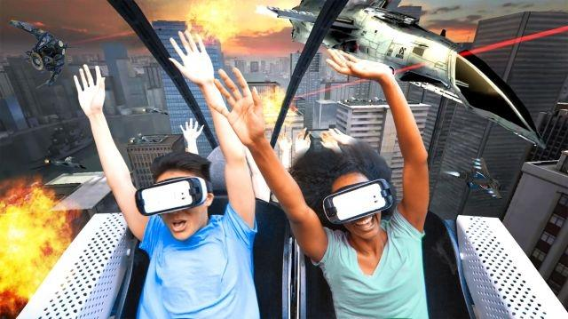 A virtual reality free for all