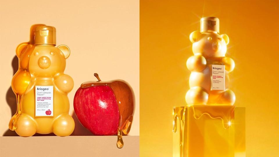 Give your hair a dose of moisture with this apple hair mask from Briogeo.