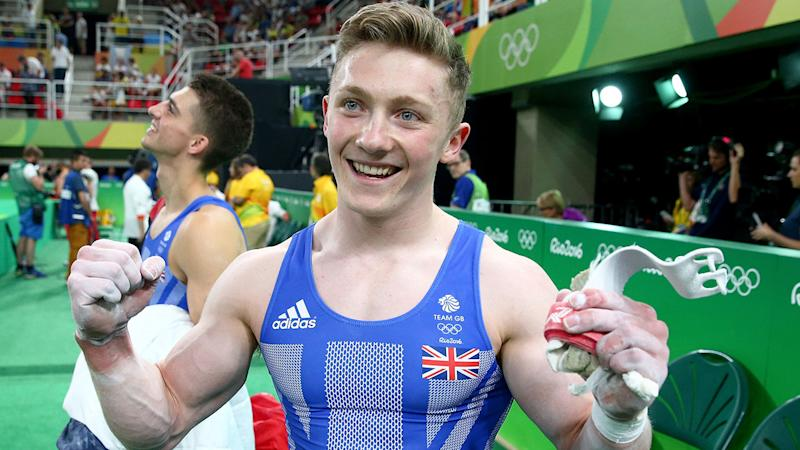 Pictured here, Nile Wilson claims a culture of abuse exists within British gymnastics.