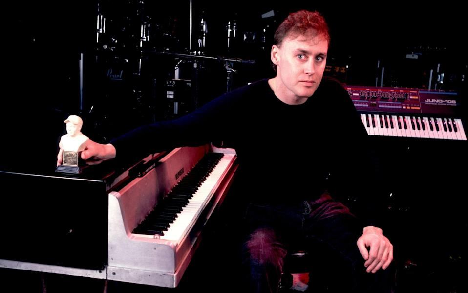 Bruce Hornsby in 1990 - Wireimage