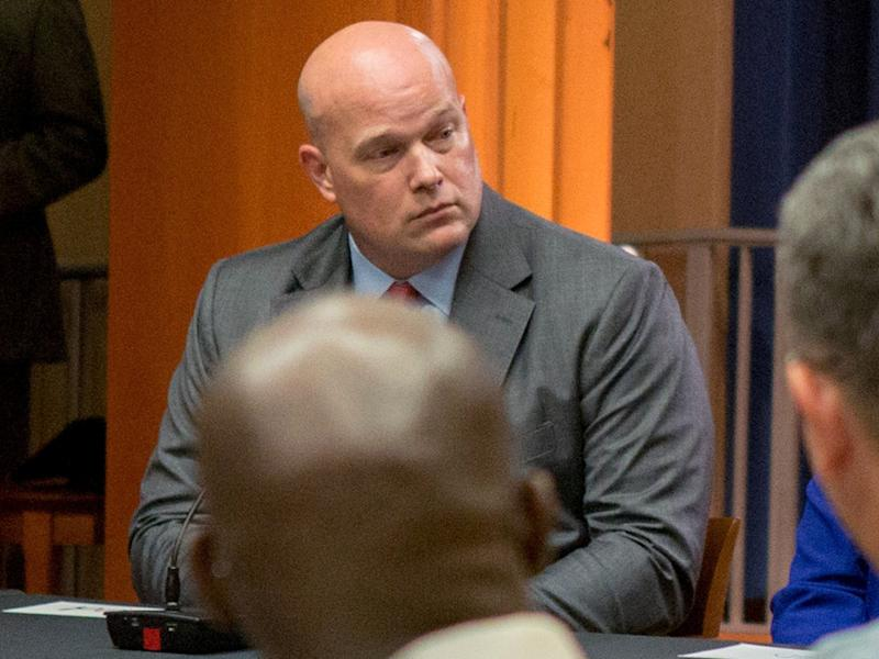 Mr Whitaker has been appointed as the acting attorney general of the United States: REUTERS