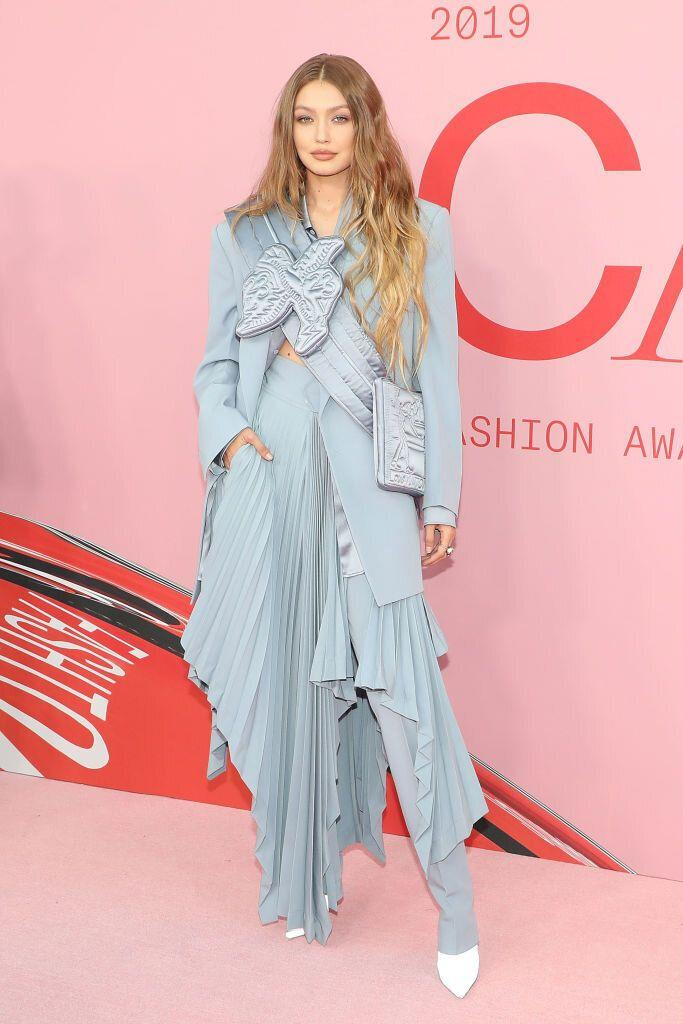 Gigi Hadid at the CFDA Fashion Awards in New York City. [Photo: Getty]
