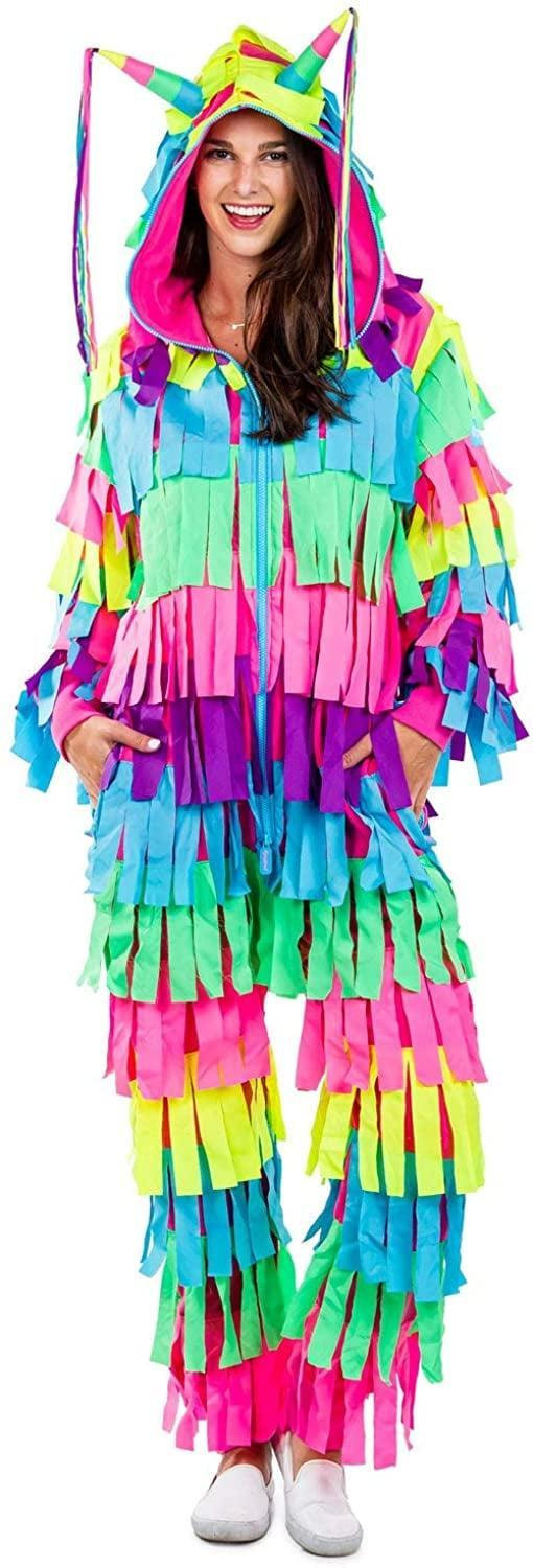 <p>Opt for a fun, colorful option with this <span>Tipsy Elves Piñata Costume</span> ($80).</p>