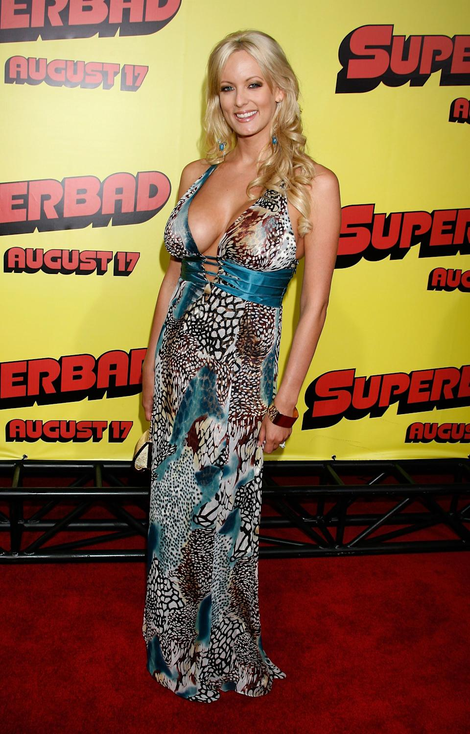 """At thepremiere of """"Superbad"""" at Grauman's Chinese Theatre in Hollywood."""