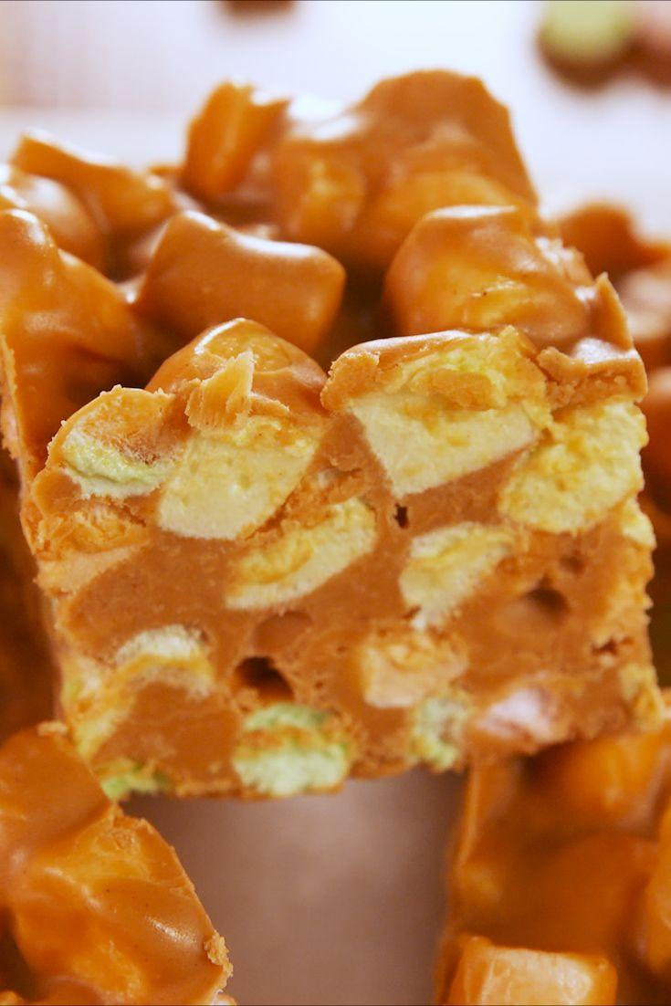"""<p>Even better than a peanut butter and fluff sandwich!</p><p>Get the recipe from <a href=""""https://www.delish.com/cooking/recipe-ideas/a25437750/peanut-butter-marshmallow-squares-recipe/"""" rel=""""nofollow noopener"""" target=""""_blank"""" data-ylk=""""slk:Delish"""" class=""""link rapid-noclick-resp"""">Delish</a>.</p>"""