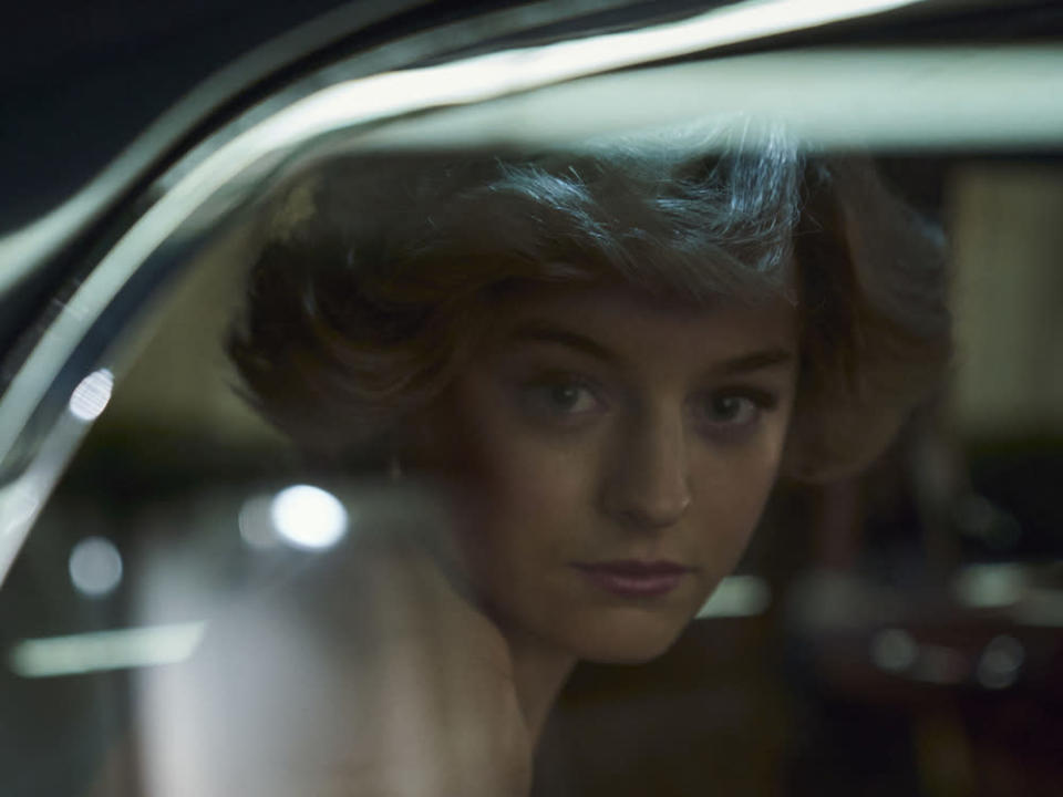 "Emma Corrin als Lady Di in ""The Crown"". (Bild: Des Willie/Netflix)"