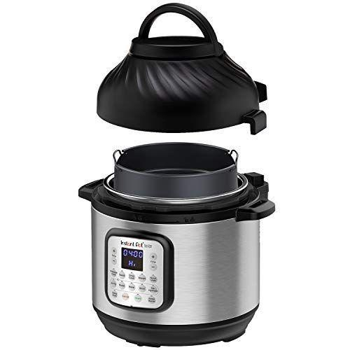 """<p><strong>Instant Pot</strong></p><p>amazon.com</p><p><strong>$179.99</strong></p><p><a href=""""https://www.amazon.com/dp/B07VT23JDM?tag=syn-yahoo-20&ascsubtag=%5Bartid%7C2139.g.19520579%5Bsrc%7Cyahoo-us"""" rel=""""nofollow noopener"""" target=""""_blank"""" data-ylk=""""slk:BUY IT HERE"""" class=""""link rapid-noclick-resp"""">BUY IT HERE</a></p><p>This last-minute Father's Day gift is perfect for the dad who loves to cook and experiment with recipes. It cooks food with virtually no steam, no noise, and 70 % less energy than most kitchen appliances. No wonder it's an Amazon's Choice product with thousands of five-star reviews. </p>"""