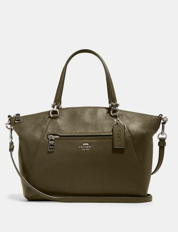 Prairie Satchel. Image via Coach OUtlet.
