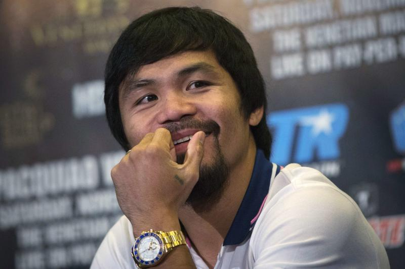 Pacquiao, wife deny bankruptcy report