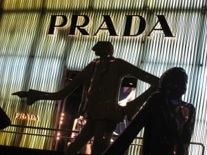 Prada display