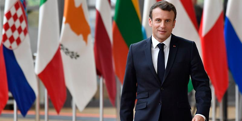 """(Bloomberg) -- French President Emmanuel Macron's approval rating continues to inch up from its lows and now stands at its highest level in almost a year.Asked if they were satisfied with Macron, 32% responded """"yes,"""" up from 30% in June and the highest since last August, according to a monthly Ifop poll for Journal du Dimanche. Macron's approval rating hit a low of 23% in December during the height of the so-called """"Yellow Vests"""" protests.The president's rising popularity comes amid revelations about fancy dinners hosted by his energy and ecology minister when he was president of parliament's lower house. The minister, Francois de Rugy, resigned on July 16 over the so-called Lobstergate scandal.The popularity of Prime Minister Edouard Philippe rose two points in the latest poll to 36%.Ifop interviewed 996 people online on July 17 and 18. The margin of error is 2.5%.To contact the reporter on this story: Gregory Viscusi in Paris at gviscusi@bloomberg.netTo contact the editors responsible for this story: Ben Sills at bsills@bloomberg.net, Andrew Davis, Stanley JamesFor more articles like this, please visit us at bloomberg.com©2019 Bloomberg L.P."""