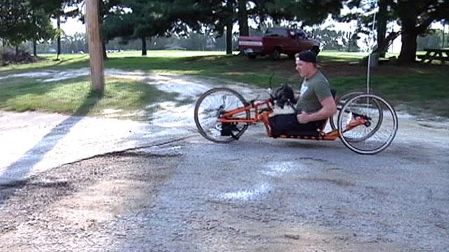Marine Who Lost Legs at War Finds Success at Marathons