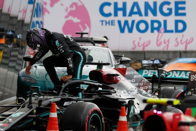 Lewis Hamilton was disappointed with his performance in Russia on Saturday