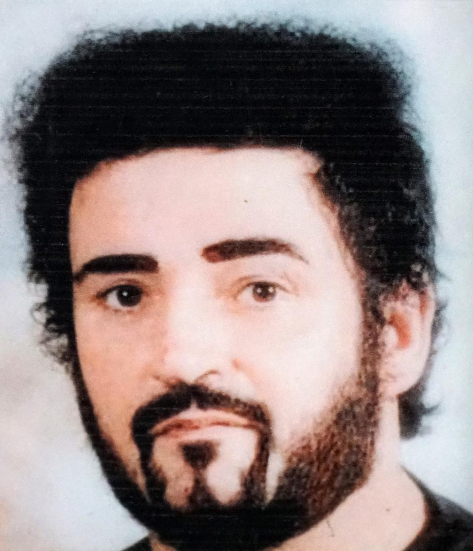 Peter Sutcliffe pictured in an early photo.