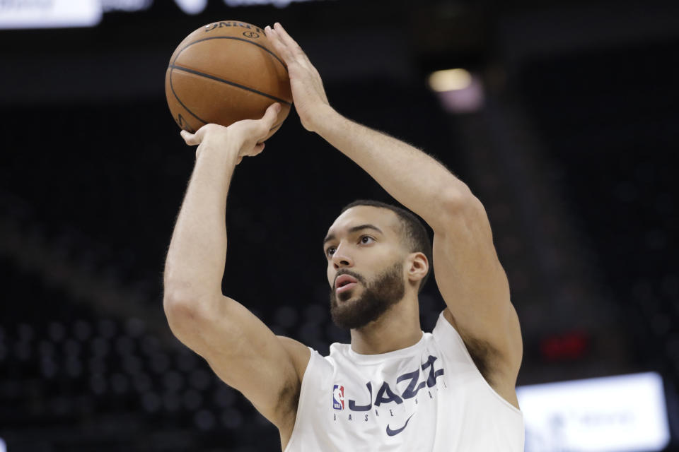 Utah Jazz center Rudy Gobert tested positive for the coronavirus on Wednesday, prompting the league to suspend the season.