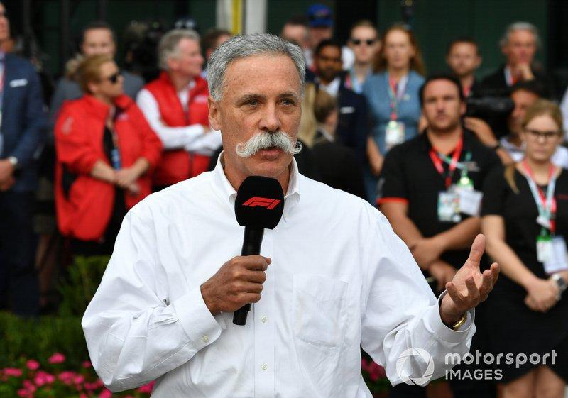 "Chase Carey, Chairman, Formula 1 <span class=""copyright"">Mark Sutton / Motorsport Images</span>"