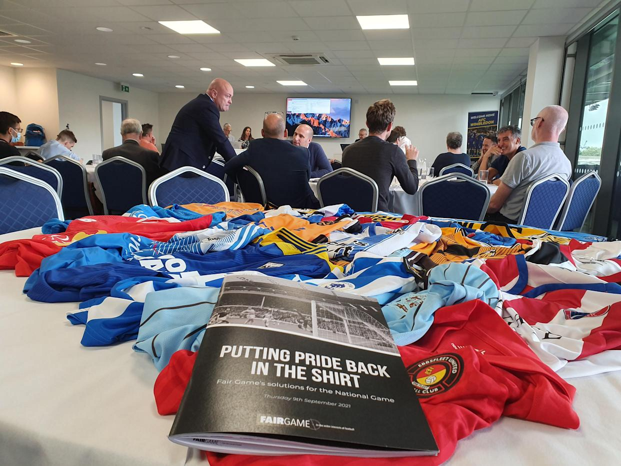 Fair Game launched its campaign at Wimbledon's Plough Lane stadium